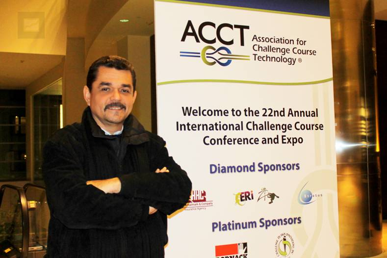 Ernesto Yturralde, conferencista en la Convención 2012 de la ACCT en Boston, Massachusetts